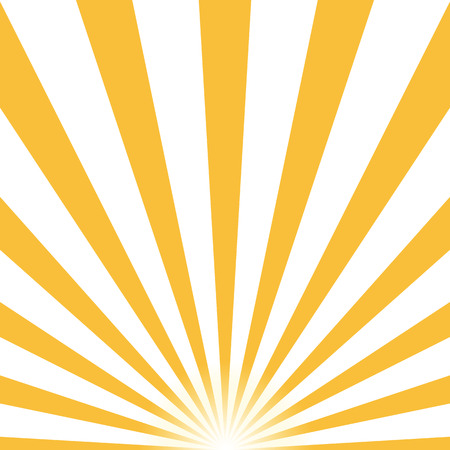 Ray retro background yellow colored rays stylish. . Vector illustration