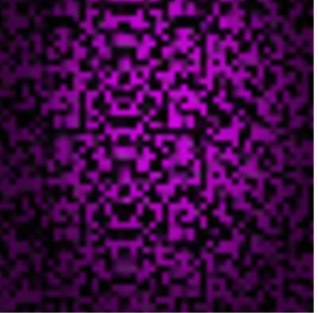 iran mosaic: Abstract triangle violet texture background