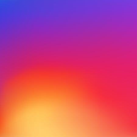 Sfondo colorato in nuovo stile sociale. modello modello di colore alla moda per la progettazione. Illustrazione vettoriale. Archivio Fotografico - 62664082
