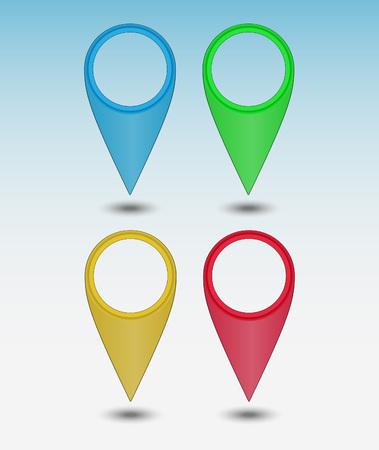 Set colors map points