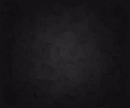 displacement: Abstract black faceted paper background