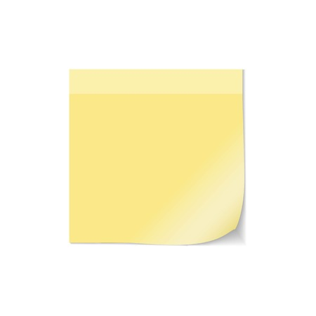 paper sheet: Note post vector. Curled paper post note