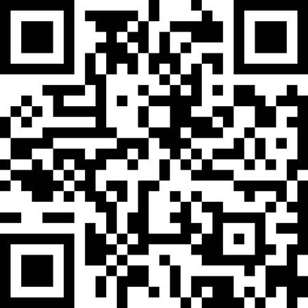 Qr code vector pictogram. Telefoon Qrcode