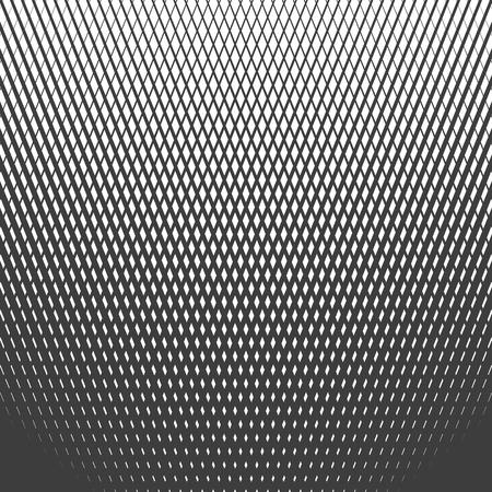 Halftone line pattern vector. Ilustração
