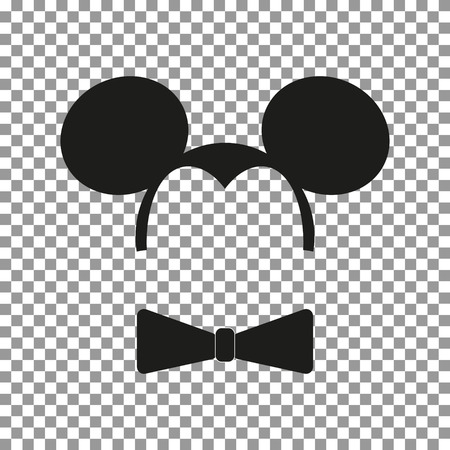 Mouse sticker vector Иллюстрация