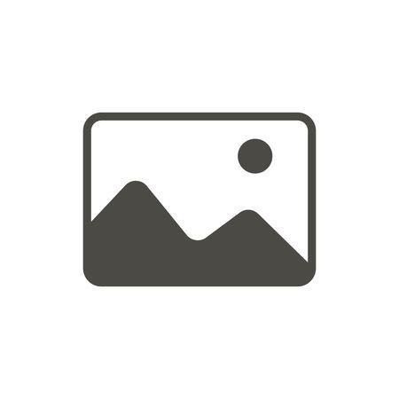 Add photo icon vector. Image symbol. Trendy flat picture, ui sign design. Upload image graphic pictogram for web site, mobile application. Logo illustration. Stock Illustratie