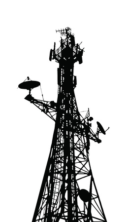 wireless tower: communication antenna