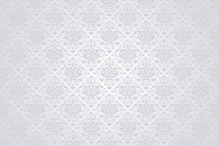 Seamless background with decorative pattern Vector