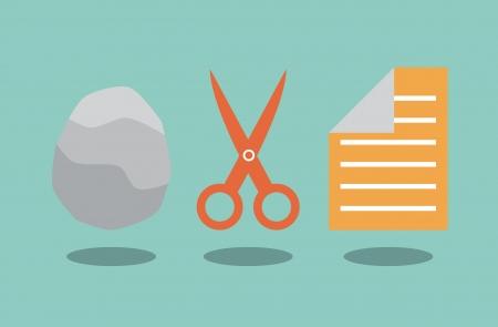 Rock scissors and paper  Solution concept