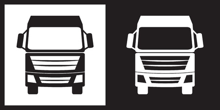 Truck icon Stok Fotoğraf - 21689946