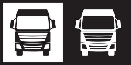 Vrachtwagen icoon