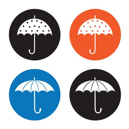 Umbrella icon Stock Vector - 22680369