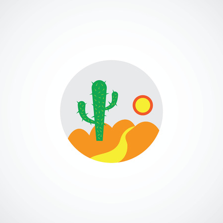 Desert icon Vector