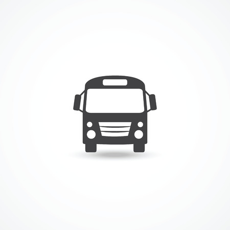 tourists stop: Bus icon
