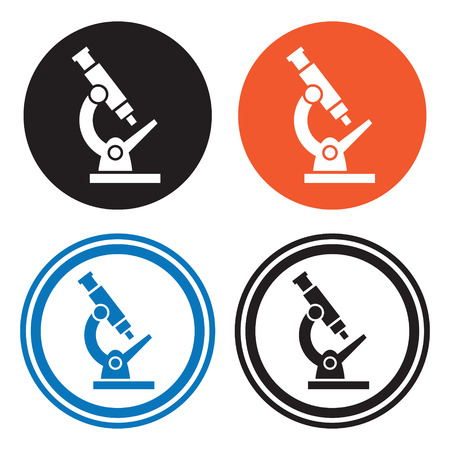 biochemical: Microscope icons
