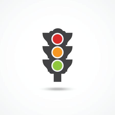 Światła: Ikona sygnalizacji świetlnej