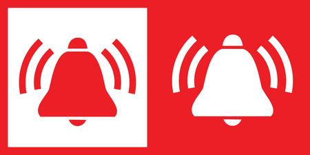 Bell icon Illusztráció