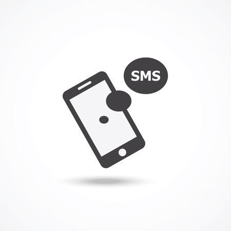 SMS icon Illustration