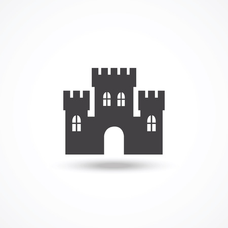 fortification: Castle icon