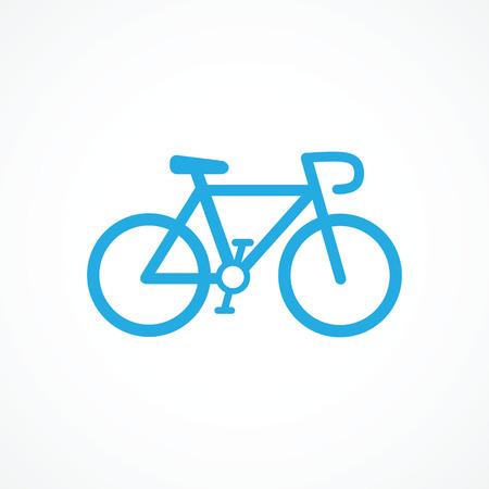 Icona della bicicletta Archivio Fotografico - 25512417