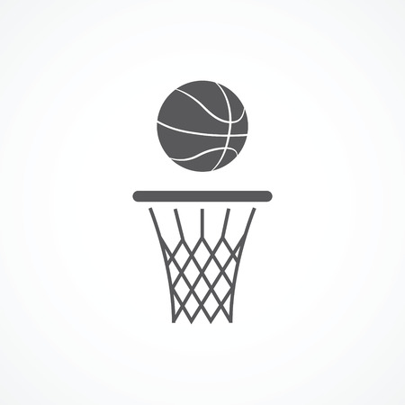 basketball net: Icono de baloncesto
