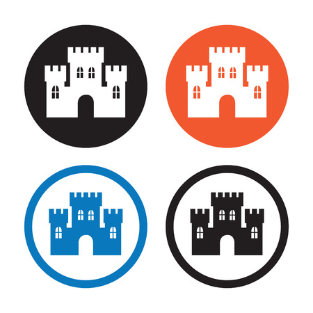 places of interest: Castle icons