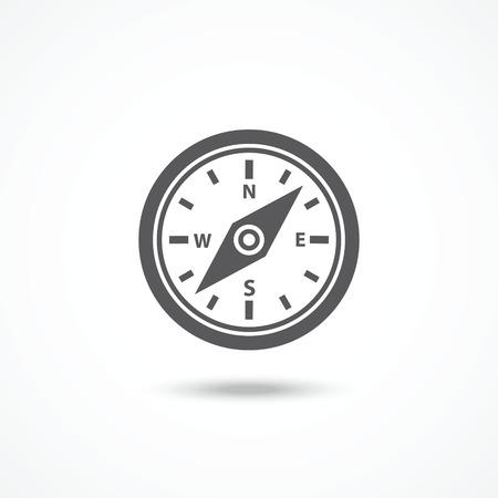 orienteering: Compass icon
