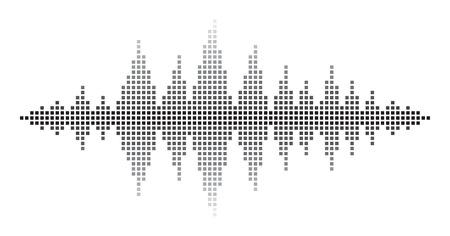 Sound Waves  イラスト・ベクター素材