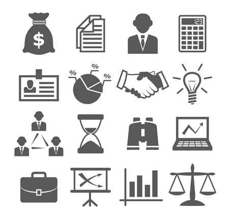 balance icon: Business icons