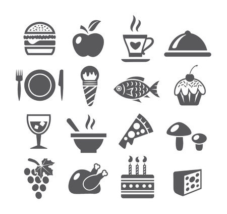 take out food: Food Icons
