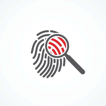 Crime icon Ilustração