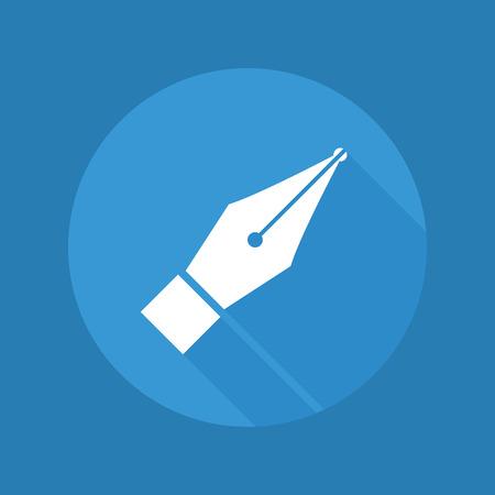 nib: Pen icon Illustration