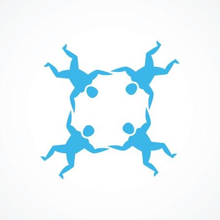 fallschirmj�ger: Fallschirmspringen Symbol