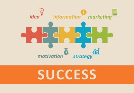 success concept: Success concept
