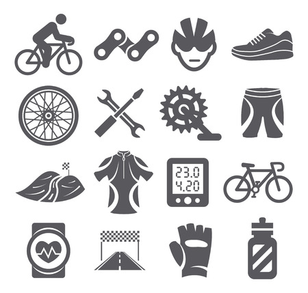 vehicle part: Biking icons
