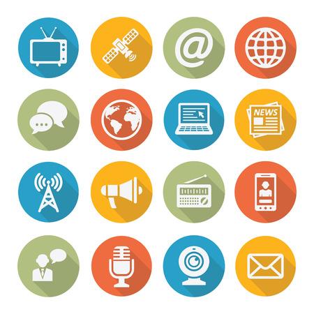 Media Icons  イラスト・ベクター素材
