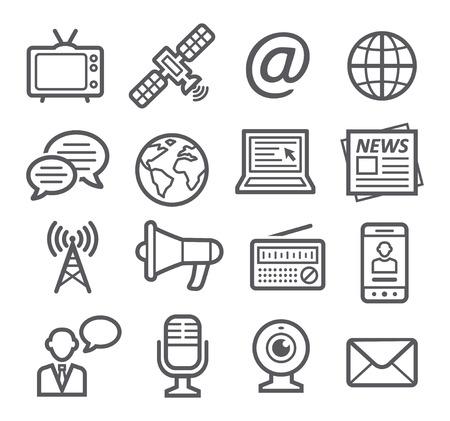 iconos de m�sica: Iconos de media