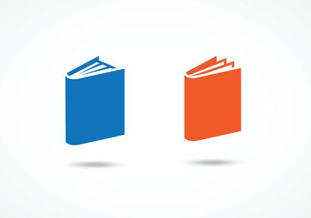 book jacket: Book icons Illustration