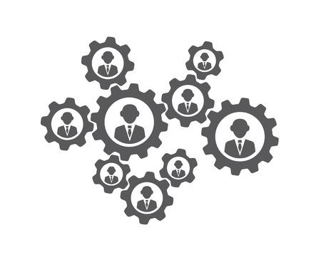 Teamwork-Konzept Standard-Bild - 40698031