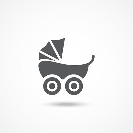 home birth: Pram icon