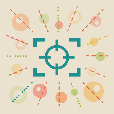 selector: Focus. Concept vector illustration