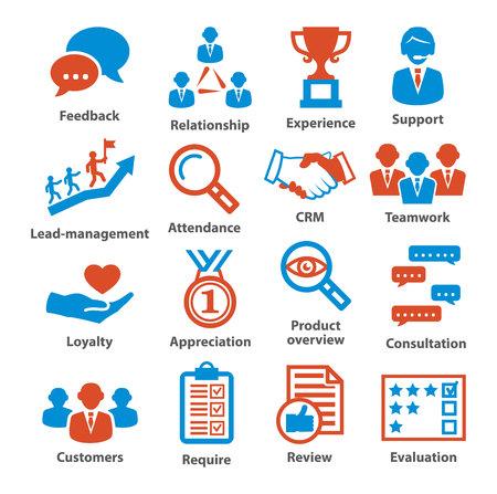Business management icons. Pack 03. Reklamní fotografie - 74908698