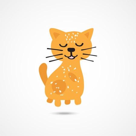 Cat Cute Illustration