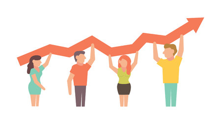 Teamwork Vector illustration for business design and infographic Vectores