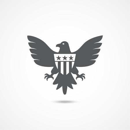 Amerikanischer Adler-Symbol