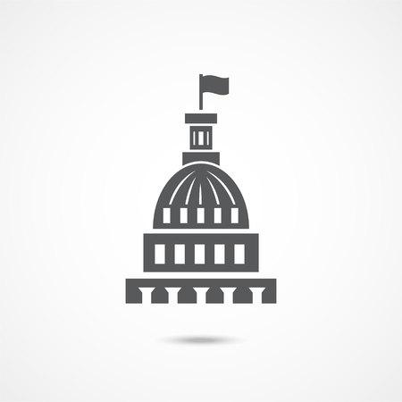 White house icon Illustration