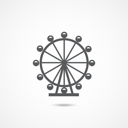 London Ferris Wheel Icon