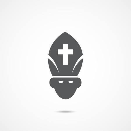 Pope Flat Icon