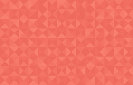 Coral trendy color 2019 vector abstract background