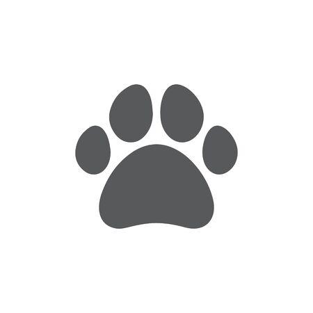 Paw icon on white background Vektorgrafik